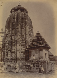 Shrine and eastern side chapel of the Ananta Vasudeva Temple, Bhubaneshwar